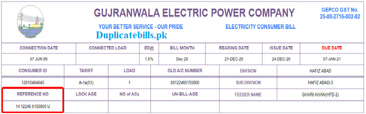 Check view and download gepco bills free of cost. If you are a residitional of Gujranwala Electric Power Company area