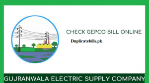 Gepco bills checking site