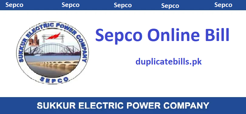 check sepco online bill and download